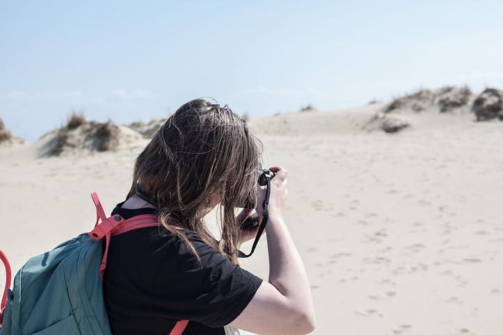 2017-05-14, Sanddynerna, sand, Hanna Eliasson, Fotograf, Fotograferar, Foto: Karl Larsson