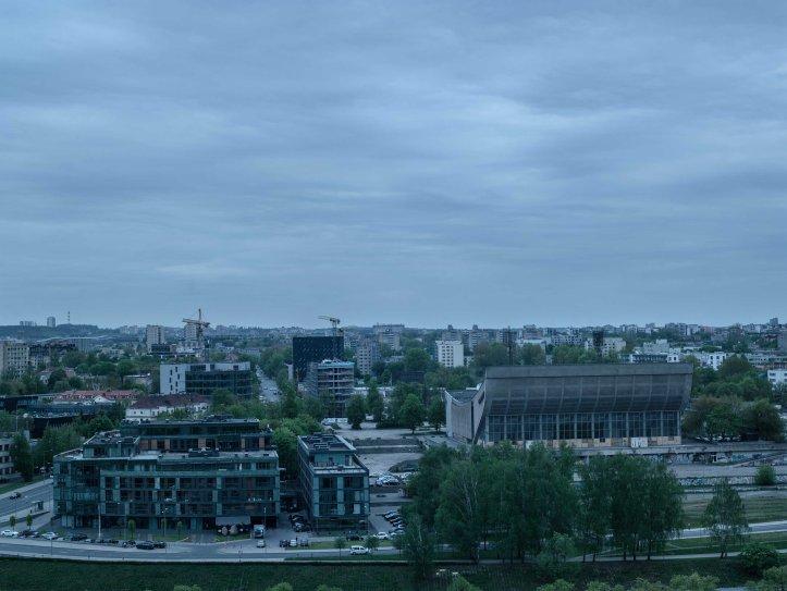 Vy från Gedimino pilies bokštas (Gediminas Tower), 2017