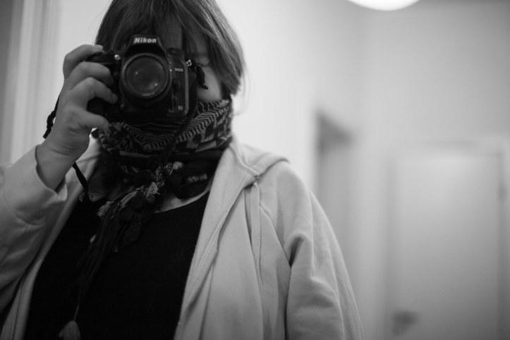 Hanna (a person) taking a photo